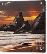 Westcombe Bay Acrylic Print