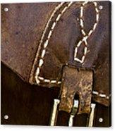 Western Chaps Detail Acrylic Print