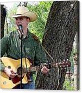 Western Guitar Acrylic Print
