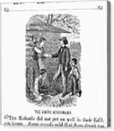 Western Missionary, 1876 Acrylic Print