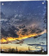 Western Skies  Acrylic Print
