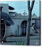 Western Village Taverna Spain Acrylic Print