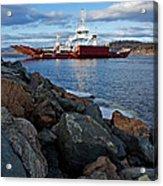 Westfield Ferry Acrylic Print