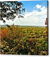 Weston Bend Fall Colors Acrylic Print