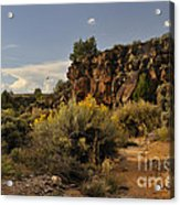 Westward Across The Mesa Acrylic Print