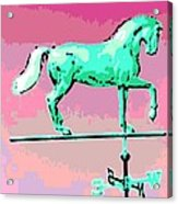 Westward Ho Acrylic Print