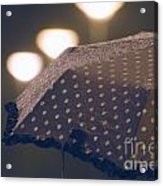 Wet Umbrella Acrylic Print