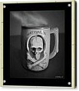 What A Mug Acrylic Print
