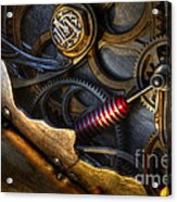 What Gear Am I In You Might Ask Acrylic Print by Bob Christopher