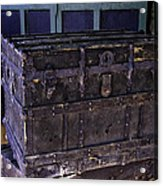 What Is In The Old Trunk Genoa Nevada Acrylic Print