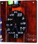 What Time Is It Acrylic Print