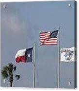 Whataburger Field Flags Acrylic Print