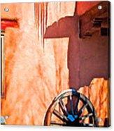 Wheel And Ice Acrylic Print