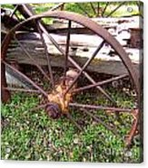 Wheel In Time Photograph Acrylic Print