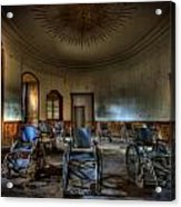 Wheelchairs Are Us Acrylic Print by Nathan Wright