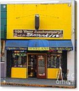 Whelans Smoke Shop On Bancroft Way In Berkeley California  . 7d10168 Acrylic Print