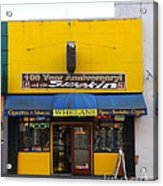 Whelans Smoke Shop On Bancroft Way In Berkeley California  . 7d10170 Acrylic Print