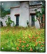 When A House Is A Home Acrylic Print