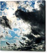 When The Storm Subsides Acrylic Print