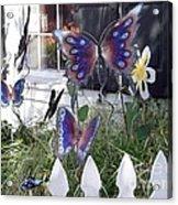 Whimsical Window Acrylic Print