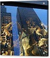 Monkeys On A Skyscraper Acrylic Print