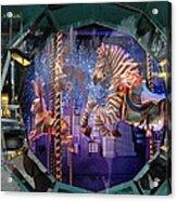 Tiffany's Carousel Acrylic Print