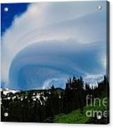 Whirling Clouds  Acrylic Print