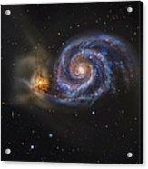 Whirlpool Galaxy Acrylic Print