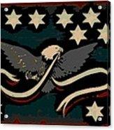 Whiskey Rebellion Flag Acrylic Print