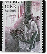 Whisky Postage Stamp Print Acrylic Print