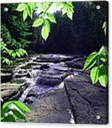 Whitaker Falls Ny Acrylic Print