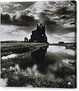 Whitby Abbey Acrylic Print by Simon Marsden