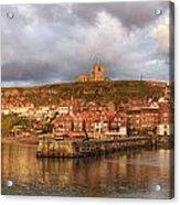 Whitby Harbour Acrylic Print