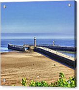 Whitby Harbour View Acrylic Print