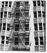 White Building Acrylic Print