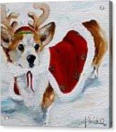 White Christmas Acrylic Print