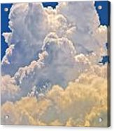 White Clouds Acrylic Print