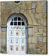 White Door Provence France Acrylic Print