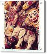 White Elephant Acrylic Print