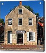 White Hall Tavern Harpers Ferry Virginia Acrylic Print