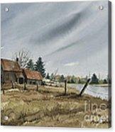 White Lake Acrylic Print