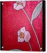 White Lotus Top Acrylic Print