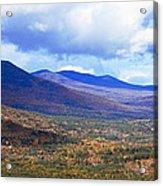 White Mountains Vista Acrylic Print