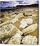White Park Bay, County Antrim, Ireland Acrylic Print