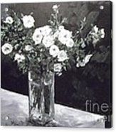 White Ramblers  Acrylic Print
