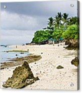 White Sand Beach Moal Boel Philippines Acrylic Print