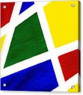 White Stripes 6 Acrylic Print