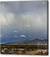 White Tank Mountains Acrylic Print