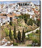White Town Of Ronda Acrylic Print