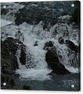White Water Acrylic Print